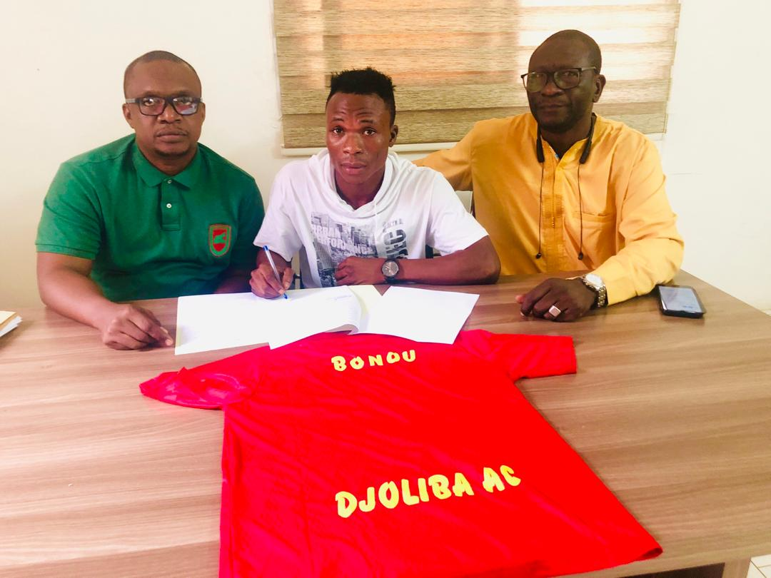 Transfert: Djoliba AC (Mali) s'offre un milieu international béninois!