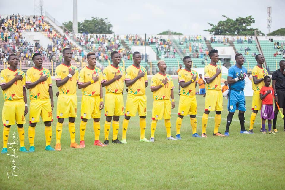 UFOA Sénégal 2019 : Guinée – Bénin 1-2 , Agossa libère les Ecureuils au bout d'un match laborieux