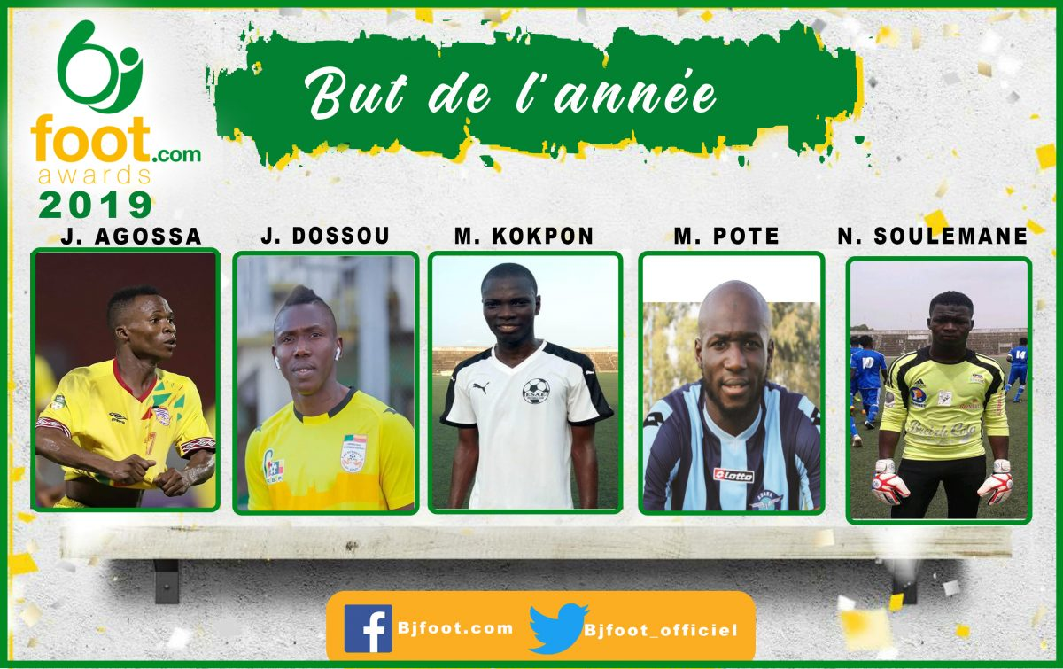 Bjfoot Awards 2019: But de l'année