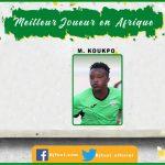 Bjfoot Awards 2019: Meilleur joueur évoluant en Afrique , Marcellin Koukpo (Hammam-Lif / Tunisie)