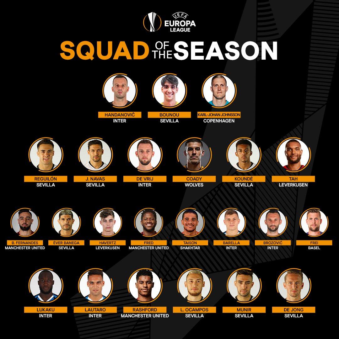 Europa League : Jules Koundé cité dans l'équipe type de la saison.
