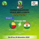 UFOA (B) - U20 - Benin 2020: Les Ecureuils en ouverture , le programme du jour