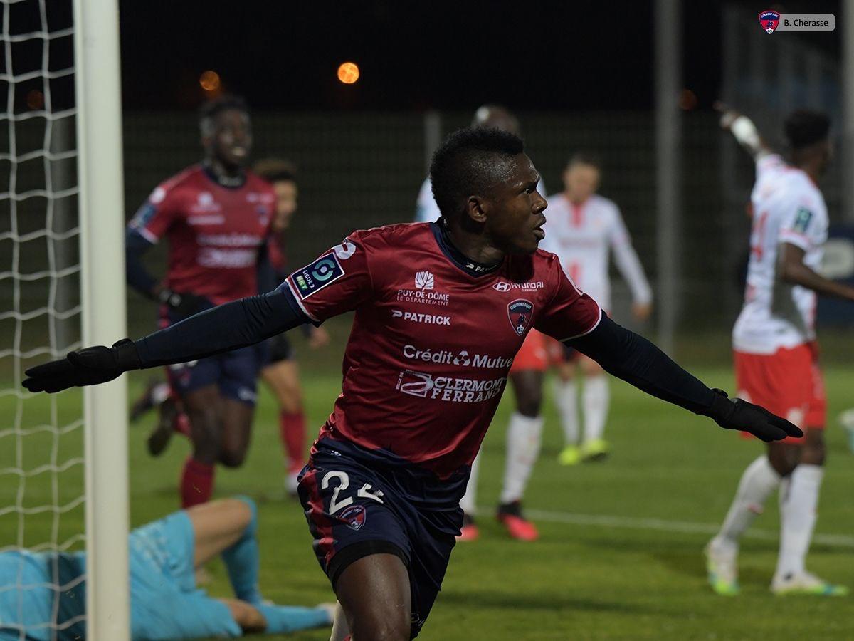 France : Dossou montre la voie à Clermont et s'offre un record personnel