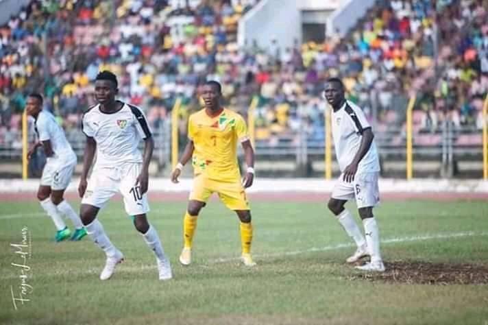 Amical : Togo A' – Bénin A'  0-1, Odo Chabi fait gagner les Ecureuils
