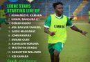 Sierra Leone – Bénin : La compo des Leones Star