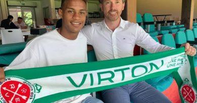 Transfert : RE  Virton (Belgique) annonce Joris Ahlinvi.