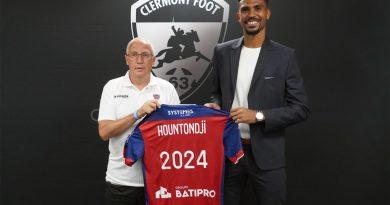 Transfert : Nouvelle prolongation pour Cédric Hountondji à Clermont